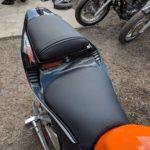 Перешивка сидений мотоцикла