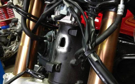 Ремонт рамы мотоцикла