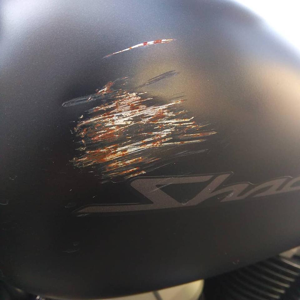 ремонт бака мотоцикла