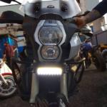 Крепление ПТФ на мотоцикл