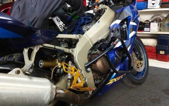 Замена бензонасоса на Honda CBR1000rr