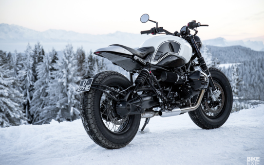 Ремонт мотоциклов в зимний период